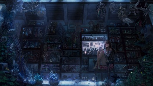 Munashichi - девочка в магазине Снов